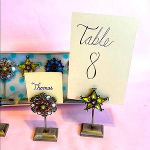 Pottery Barn placecard holders Set of 8